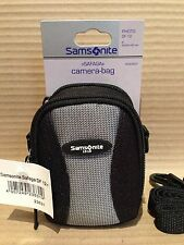 Genuine Samsonite DF12 Camera Case - Polytex Carry Bag & Strap 100x65x30 - NEW