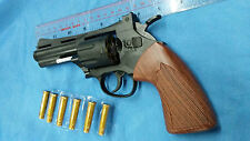 Toy Revolver spring action dummy replica movie prop chamber spin
