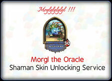 Hearthstone Shaman Hero Morgl Skin Unlocking Service  /  All Servers