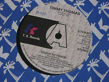 "Timmy Thomas:  Touch to touch PROMO  7""   EX SHOP"
