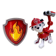 Marshall-Paw Patrol Action Pack Pup & Badge Shield Dog Backpack Projectile Toy