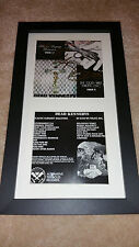 Dead Kennedys In God We Trust JELLO BIAFRA SIGNED AUTOGRAPHED FRAMED DISPLAY #E
