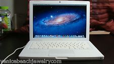 "Apple MacBook 13.3"" Laptop - MB402LL/A OS x10.7.5 Lion 4GB Ram 120GB HDD Webcam"