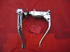 CLASSIC 1984 WEINMANN QUICK RELEASE DRILLED ALLOY BRAKE LEVERS - BRIGHT POLISHED