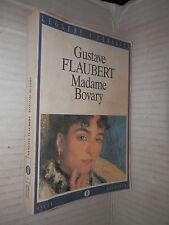 MADAME BOVARY Gustave Flaubert Diego Valeri Mondadori Oscar 1998 romanzo libro
