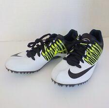 Nike Zoom Celar V (5) Sprint Running 629226 107 Men Size 5.5 +Spikes & SRT