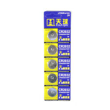 Wholesale 5pcs New CR2032 DL2032 LM2032 Button Cell Battery Cells for watch toys