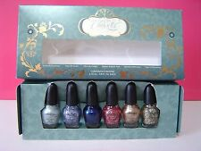 NIB SEPHORA Disney Cinderella Collection A Brush with Fate Nail Polish Set of 6
