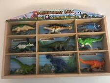 Prehistoric Pals 9 Dinosaur Figure Play Set Melissa Doug, Toy Display Rack 2226