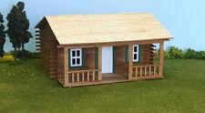O Scale Laser Cut Custom Log Cabin Building Kit