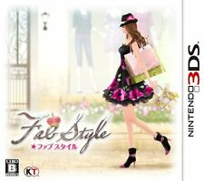 USED FabStyle Japan Import Nintendo 3DS