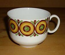 Winterling  Röslau 1 Kaffeetasse  mit Dekor, braun, grün, gelb