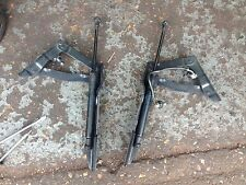 Bmw E60 E61 Series 5 LCI Bonnet Hinge Left and Right (pair) Space BLACK