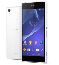 "New Original Sony Xperia Z2 D6503 16GB (Unlocked) 5.2"" GPS Smartphone White"