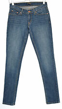 Levis SKINNY Dark Blue Low Rise Stretch Jeans Size 14 W32 L32