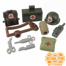 "Brickforge ""US MEDIC"" Accessory Pack for Lego Minifigures WW2 NEW"