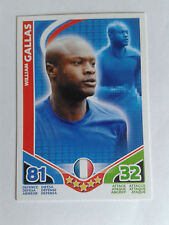 TOPPS Match Attax William Gallas Chelsea / France Euro Issue Card