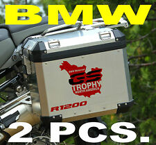 BMW GS TROPHY NORTH AMERICA 2014 TWO COLOR STICKERS ADESIVI 2 - THE1200STICKERS