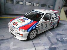 FORD Escort RS Cosworth Rallye #3 Cunico Martini 1995 1000 Mig Racing OTTO 1:18