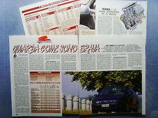 AUTO996-RITAGLIO/CLIPPING/NEWS1996-FIAT MAREA 1.8 16V HLX - 4 fogli