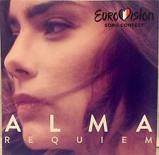 EUROVISION FRANCE 2017 ALMA Requiem PROMO CD SINGLE