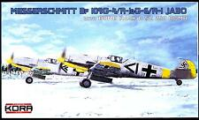 KORA Models 1/72 MESSERSCHMITT Bf-109G-4/R-1 or G-6/R-1 JABO Fighter Bomber