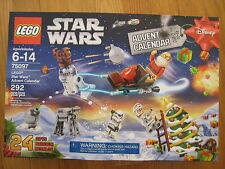 NEW Lego Star Wars Advent Calendar 75097 holiday Christmas santa set 2015 NIB