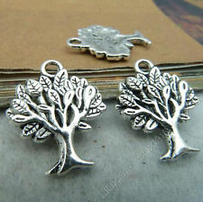 10pc Retro Tibetan Silver TREE OF LIFE Pendant Charms Jewelry Making P52J