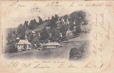 MEGEVE 214 le calvaire photo-éd pittier timbrée 1902
