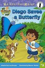 Diego Saves a Butterfly (Ready-To-Read Go Diego Go - Level 1), , Good Book