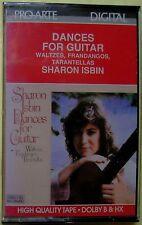 Sharon Isbin:  Dances for Guitar (Cassette, Pro-Arte) NEW