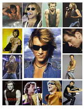 JON BON JOVI PHOTO-FRIDGE MAGNETS Set of 13