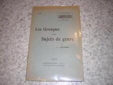 1910.les groupes et sujets de genre / Carteron.photographie