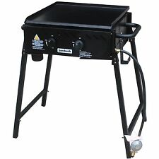 Jumbuck 2 Burner Flat Top Delta BBQ, Portable and Easy to Carry
