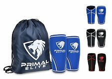 Knee Sleeve 1 Pair Free Gym Bag - Best Squat Knee Support & Compression LARGE