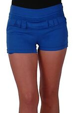 Womens Casual Slim Fit Stretch Cotton Hip Length Mini Shorts Pants Trousers