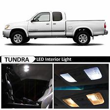 15x White Interior LED Lights Package Kit for 2000-2006 Toyota Tundra