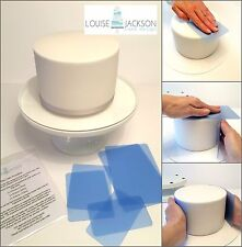 FLEXI CAKE SMOOTHER SET 6 PIECE for sharp edges and a perfect finish