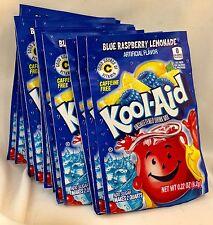25 Blue Raspberry Lemonade Kool-Aid Drink Mix Gluten Free Unsweetened Exp 2018