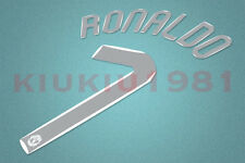 Manchester United CL C.Ronaldo #7 2007-2008 Homekit Nameset Printing
