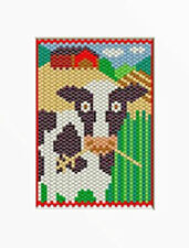 BESSIE THE COW PONY BEAD BANNER PATTERN