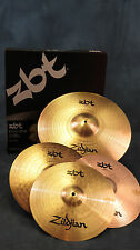"Zildjian ZBT ZBTS3P-9 ZBTS3P9 3 Cymbal Box Set Pack 13"" Hats 14"" Crash 18"" Ride"