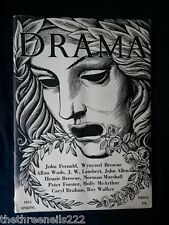 DRAMA - SPRING 1954 - YOU WANT TO LISTEN TO THE OCEAN