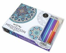 VIVE LE COLOR! MEDITATION (ADULT COLORING BOOK AND PENCILS) COLOR THERAPY KIT