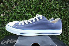 CONVERSE CT ALL STAR OX LOW CHUCK TAYLOR SZ 12 WHITE NAVY X9697