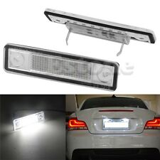 2x LED License Plate Lights For Vauxhall Opel Corsa B Astra F G Vectra Omega
