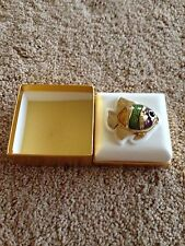 ESTEE LAUDER WHITE LINEN TROPICAL FISH SOLID PERFUME Full Double Box 4672