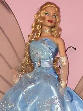 Tonner Doll Wizard Of Oz Goodness And Gossamer Glinda Blue Dress With Box RARE