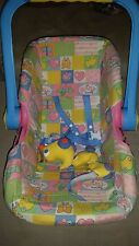 RARE vintage Baby Born Zapf Car Seat Baby Doll Carrier Rare