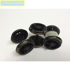 X8254 Hornby Spare WHEELS/AXLES for J94 (Black)